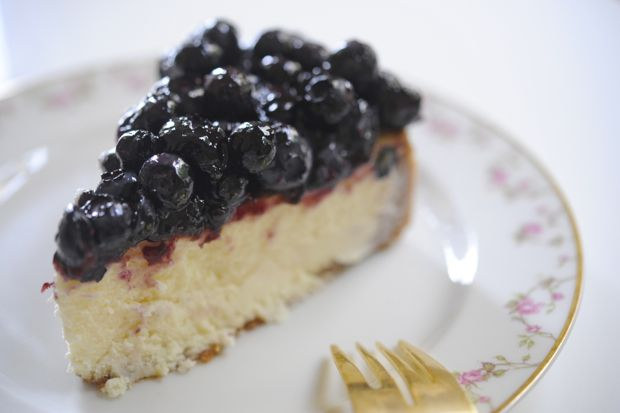 blueberry cheesecake (pic from cupcakes and cashmeres)
