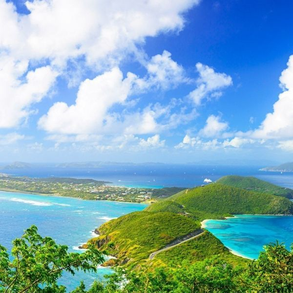 *Gorda Peak, Gorda Peak National Park, Virgin Gorda, British Virgin Islands.