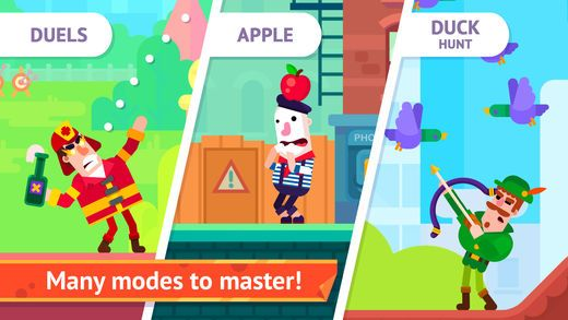 Bowmasters (Ad Free) - Top Multiplayer Bowman Game on the App Store