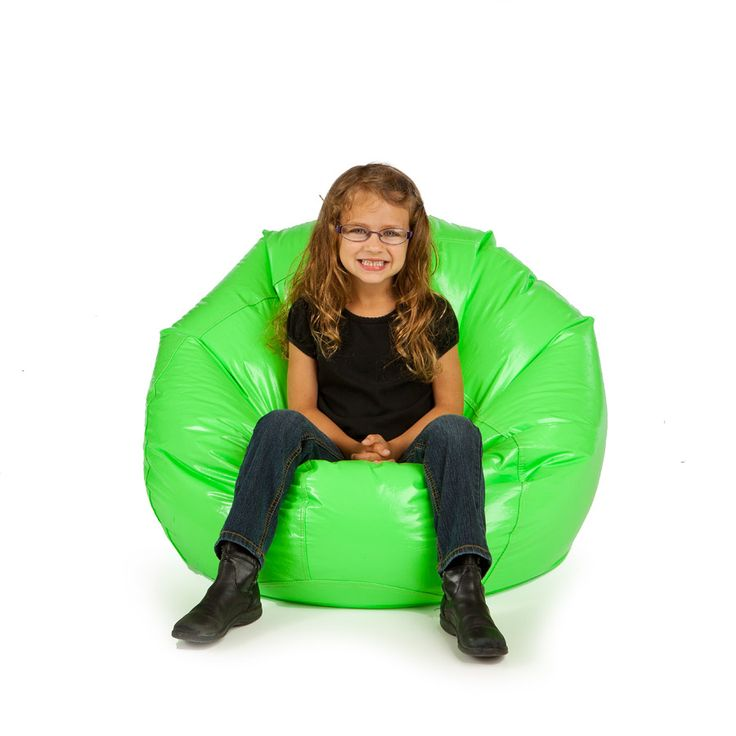 small bean bag non removable cover vinyl wetlook pear small bean bag chairs pinterest. Black Bedroom Furniture Sets. Home Design Ideas