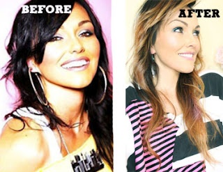Well... this is EXACTLY what I was looking to do to my hair.  YAY!   kandeej.com: My New Summer Hair: Ombre Halo Highlights