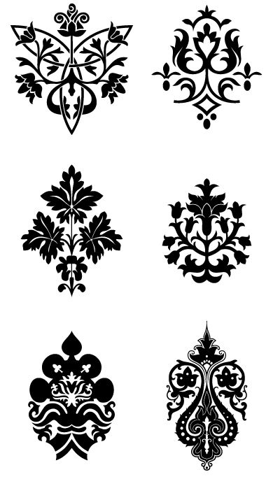 possible henna patterns