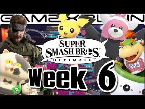 Smash Bros Ultimate Update Pichu Mgs3 Music Moray Towers