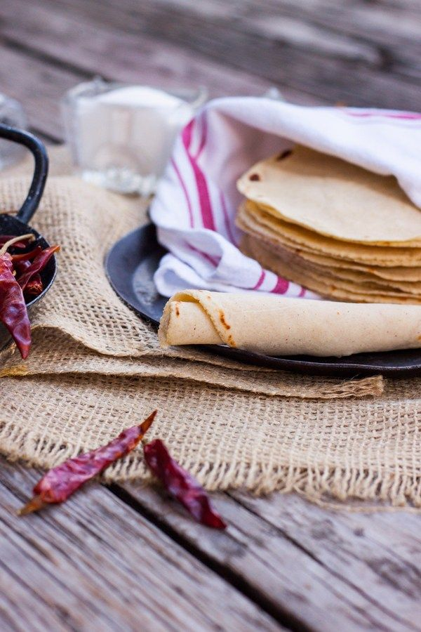 tortillas de maíz hechas en casa