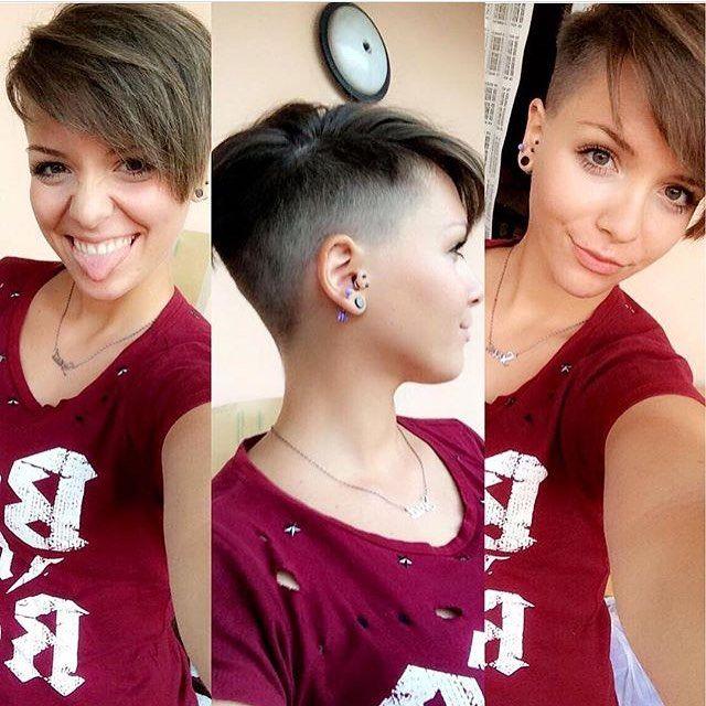 "381 Me gusta, 10 comentarios - Felice Capelli (@boblovers) en Instagram: ""@syria_esposito #bobhaircut #undercut #carrè #sidecutstyle #bobhairstyle #rasatura #shorthair…"""