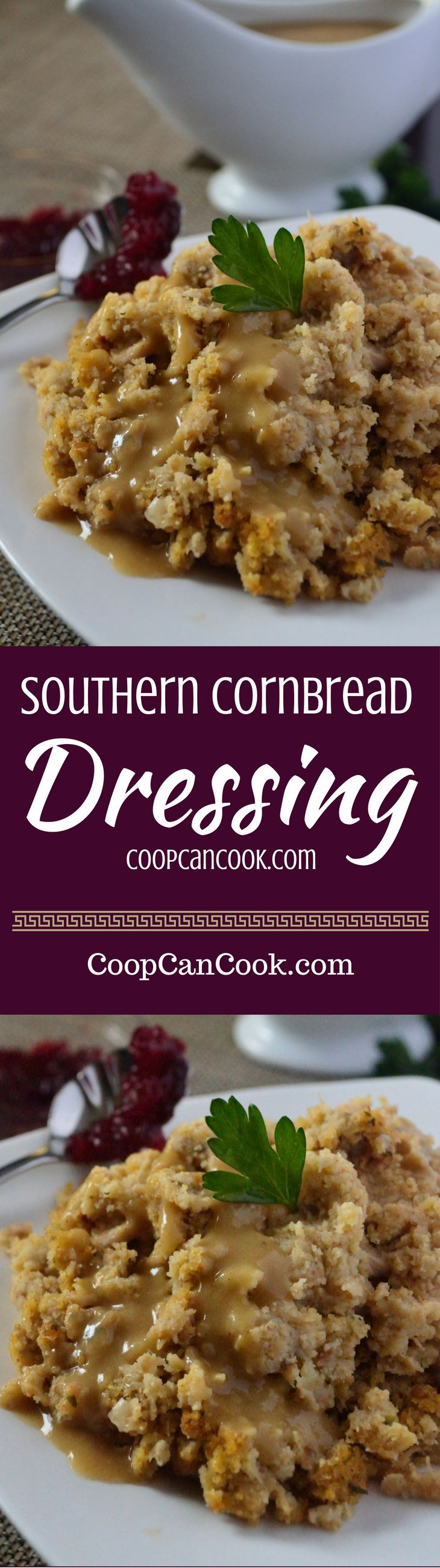 This is the Beyonce of Southern Cornbread Dressing recipes! Put your family's Love on Top this thanksgiving and bless the table with this Southern classic!