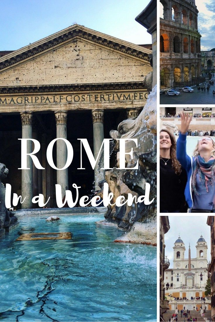 Rome is one of the most beautiful cities in the world, and a perfect destination for a weekend getaway. Check out this post and video for the best things to do, and how to make sure you see them all in two days.
