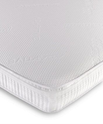 Suitable for cot beds, this mattress features pocket springs for full support and Adaptive that will actively regulate temperature to keep your little one comfortable all night long.