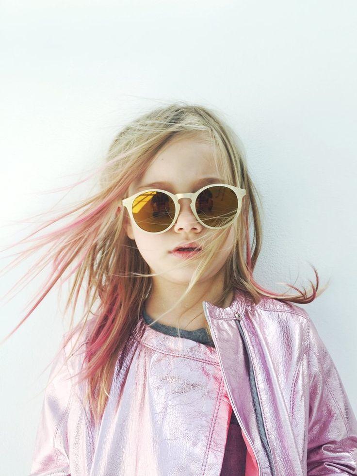 round mirrored kid sunglasses