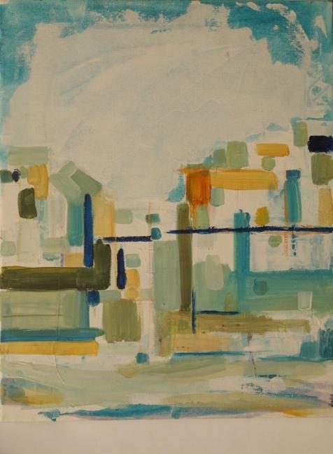 acryl/oil on canvas,50x40cm