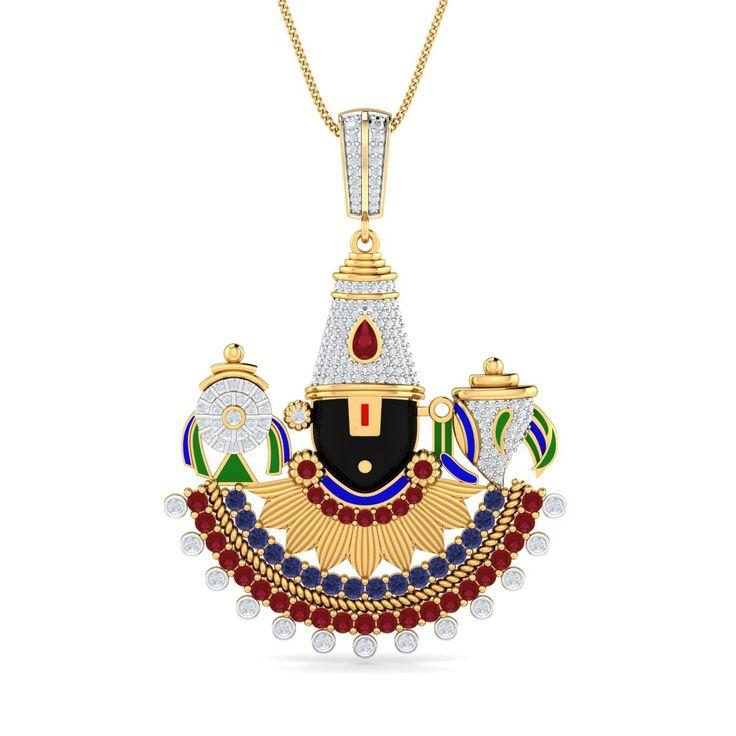 18 best Tirupati Balaji Locket for men by menjewell.com images on ...