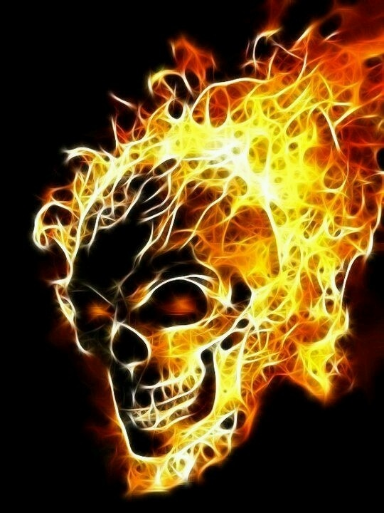 Cross Stitch Charts, Cross Stitch Patterns, Stitching Patterns, Cross Stitching, Ghost Rider, Horror Art, Fractal Art, Skull Tattoos, Skull Art