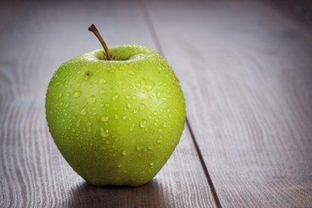 Zuppa di ceci con mela verde...
