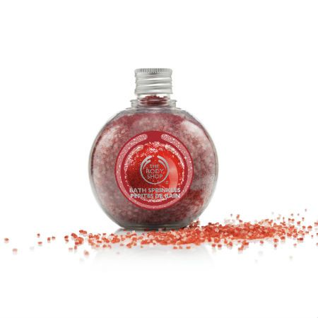 The Body Shop Limited Edition Frosted Cranberry Bath Sprinkles