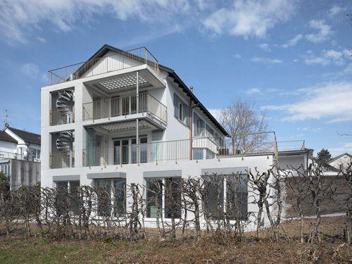 Wirz Architekten :: Erweiterung Wohnhaus Zürich