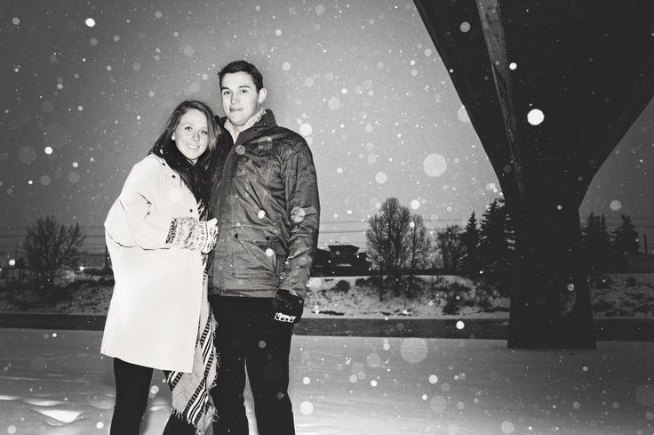 Couple, winter