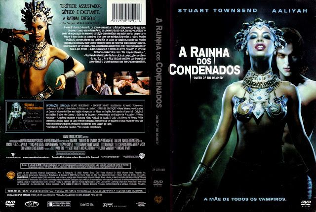 Angel Movies & Games Covers: A Rainha dos Condenados