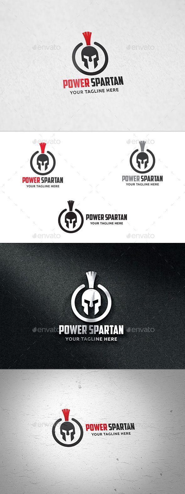 Power Spartan - Logo Template Vector EPS, AI. Download here: http://graphicriver.net/item/power-spartan-logo-template/12404719?ref=ksioks