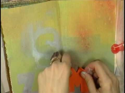 Filling My Art Journal! with Cristina Zinnia Galliher ~*~Roses On My Tab...