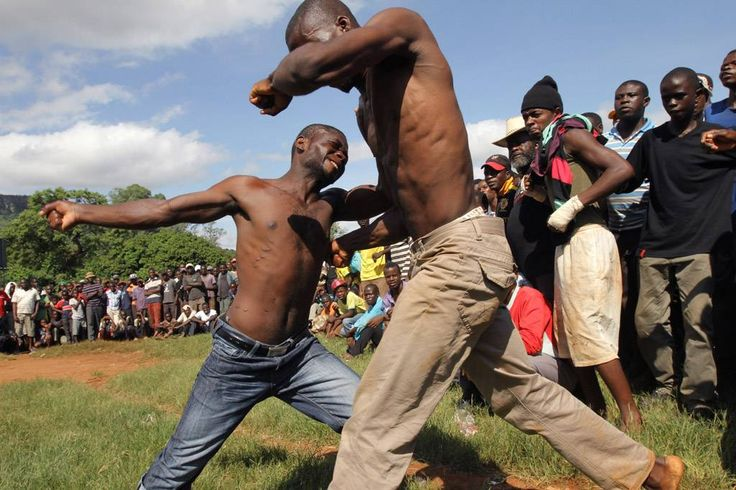 IN PICTURES: Blood, fury and glory in Venda bare-knuckle fights | eNCA