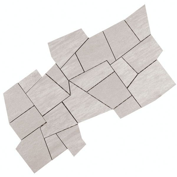 coem mosaico palladiana bianco - mosaic wall tile 30 x 60cm