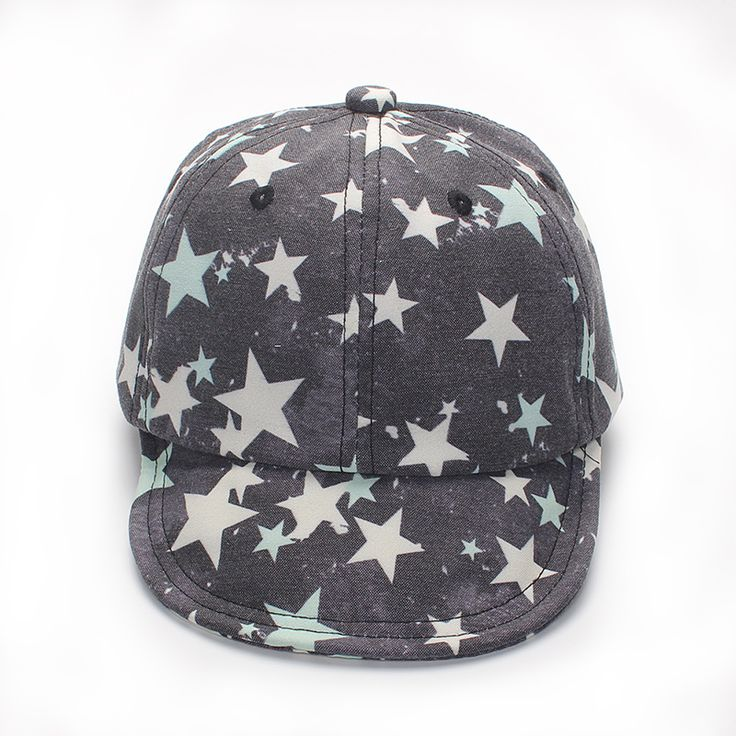 Star Baby Caps Cotton Boys Girls Caps Retro Baseball Sun Cap Baby Spring Summer Hats For Boy Girls Baby Photography Accessories