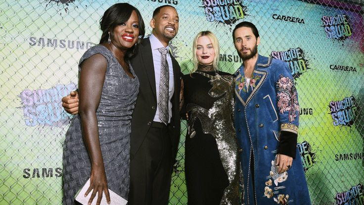 Will Smith Celebrates Superhero Diversity at 'Suicide Squad' Premiere | Your Lucky News Updates