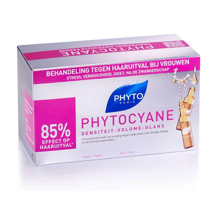 Фито PhytoCyane Восстанавливающий истончение волос Сыворотка 12 х 7,5 мл Ампулы - feelunique.com