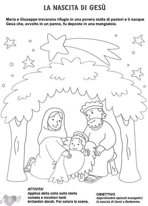 Stampa E Colora Scuola Pinterest Colori Di Natale Schede