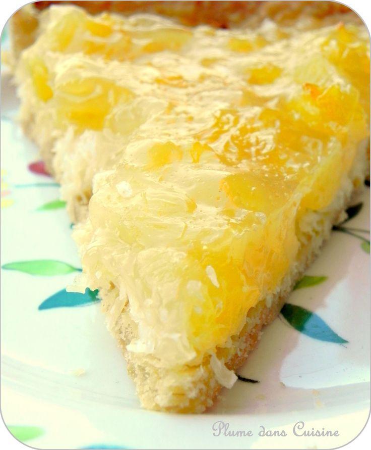 tarte coco-ananas (12)                                                                                                                                                                                 Plus