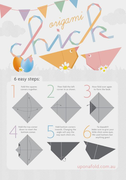 Easy origami instructions for beginners how to make origami scottie - 110 Best Origami Animalitos Images On Pinterest Paper