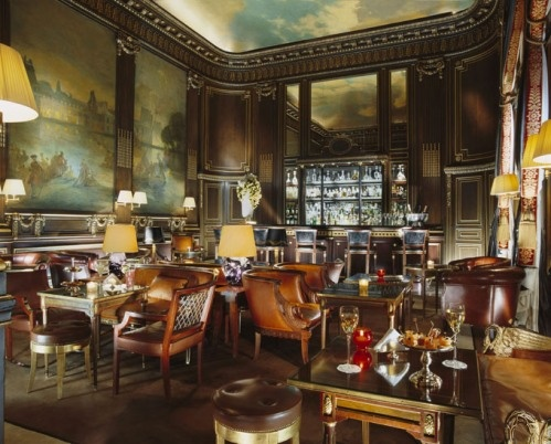 http://www.cheapholidayticket.com Le Bar 228 in the Le Meurice Hotel, Paris  #JetsetterCurator