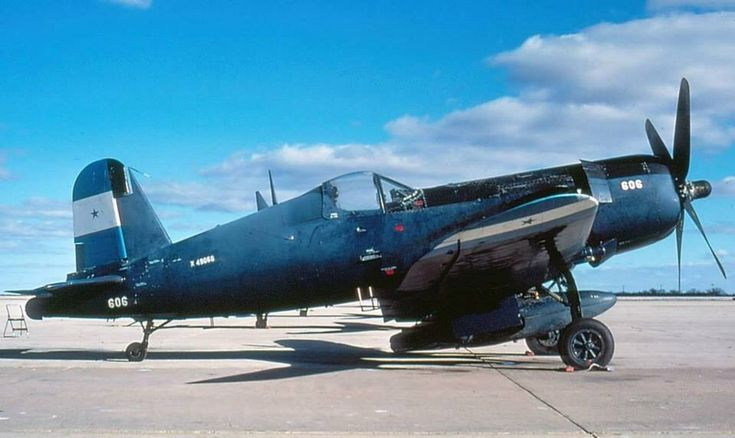 Honduras Air Force F4U5-N corsair Football war