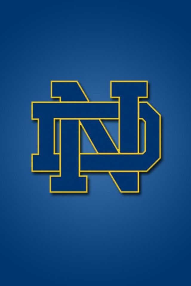 Iphone X Screensaver 4k Notre Dame Fighting Irish Wallpaper