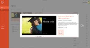 Microsoft's Best Templates for Honoring Graduates: Graduation Photo Album Template for Microsoft PowerPoint and Word