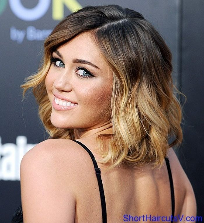 28 best celebrity hair images on pinterest celebrities hair miley cyrus short hair ombre design thecheapjerseys Images