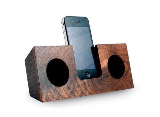 Using natural acoustics (specially designed sound channels), this dock amplifies the iPhone's built in speaker by 2 to 4 times.
