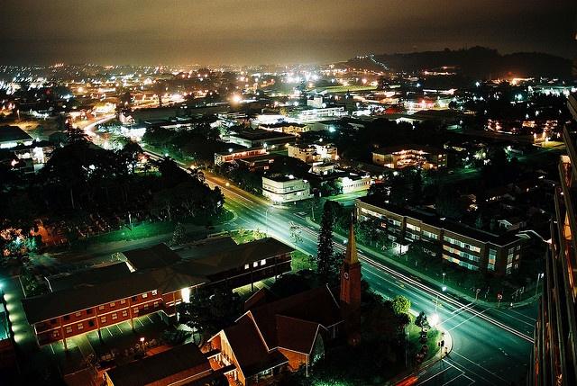 Pinetown Night 2002 by Chris Bloom, via Flickr