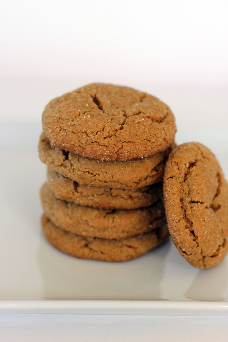 Favorite whole wheat ginger spice cookies