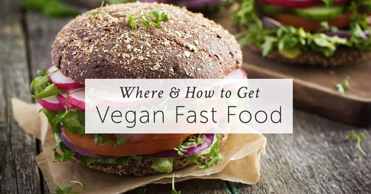 Can you get vegan fast food at the common joints or restaurants? Can you always be sure about the ingredients? Learn all you need to know in this article.