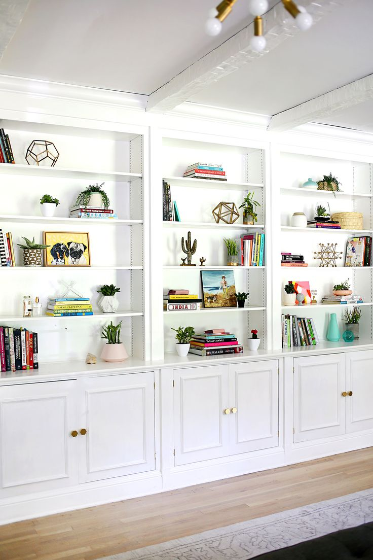 1000 Ideas About White Wood Bookcase On Pinterest