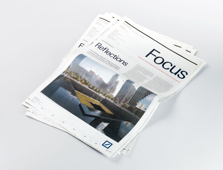 Teatre CCCB  Pilot issue newsletter for Deutsche Bank's CSR activities in the US.    Format and materials:  Berliner, printed 4–colour on 52gsm improved newsprint.    Typeface:  Univers Deutsche Bank