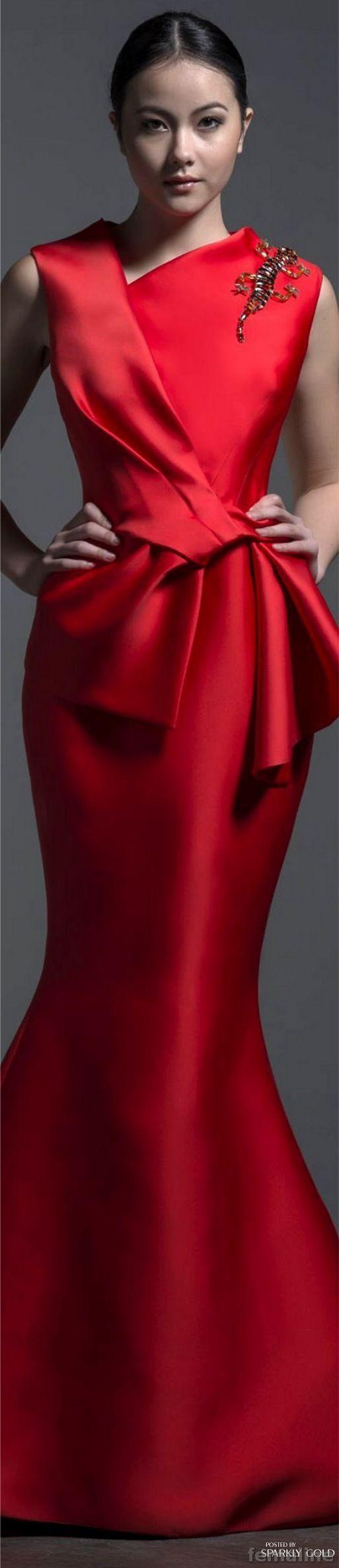 Elegant Red Dresses