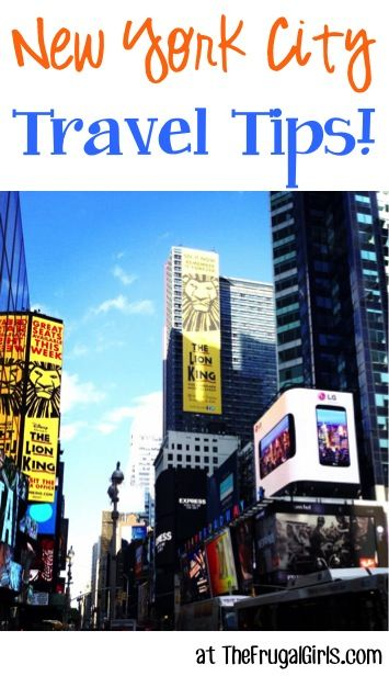 New York City Travel Tips at TheFrugalGirls.com