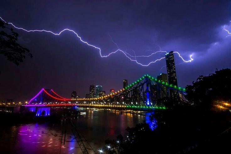 Chasing storms, Brisbane, Australia.