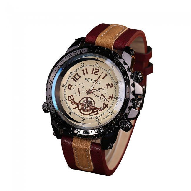Pánské hodinky s mohutným ciferníkem - 5 variant 1  08a211694d