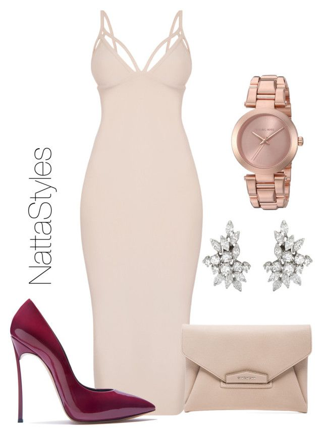 romance by nattaca on Polyvore featuring polyvore fashion style Casadei Givenchy Michael Kors clothing