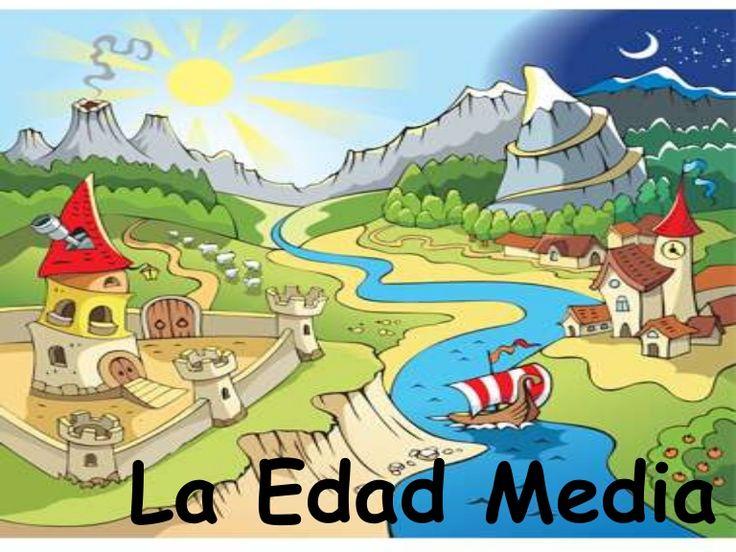 power point para conocer qué significa LA EDAD MEDIA y sus características.