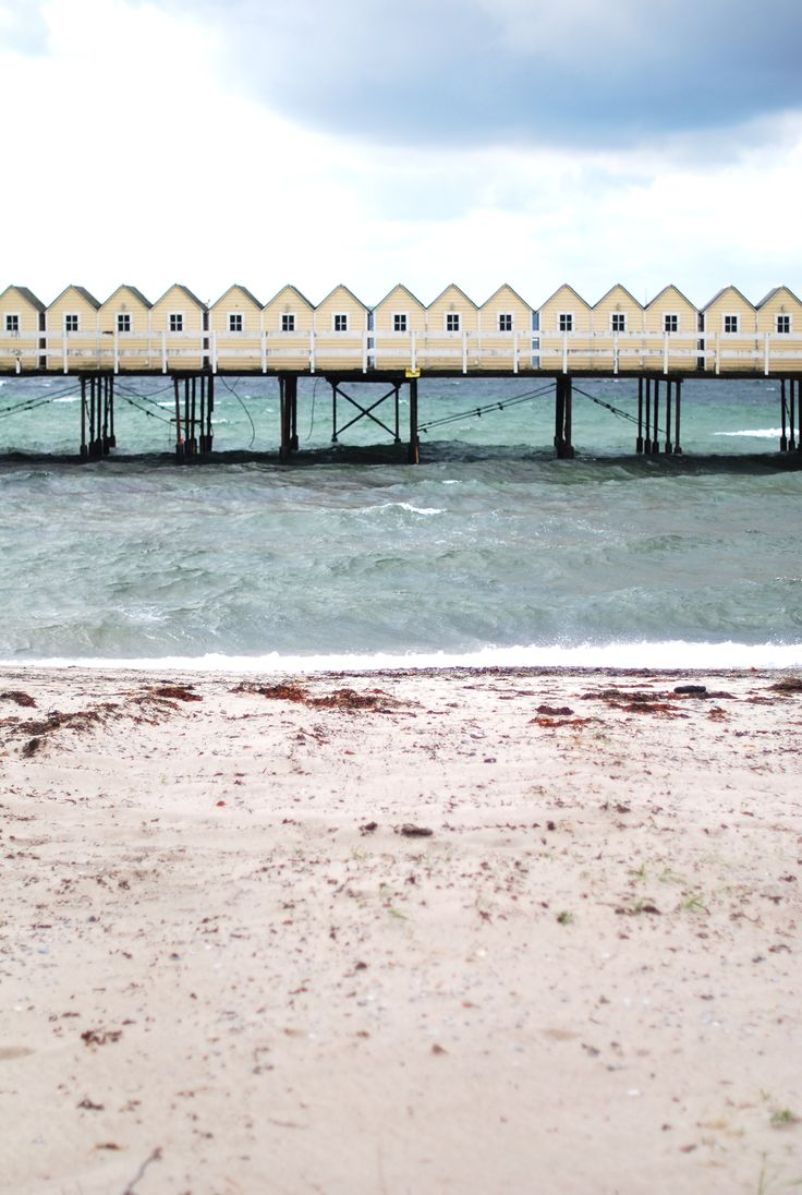 """Cold bath house"" in Helsingborg. Been there! Took v similar photo!"