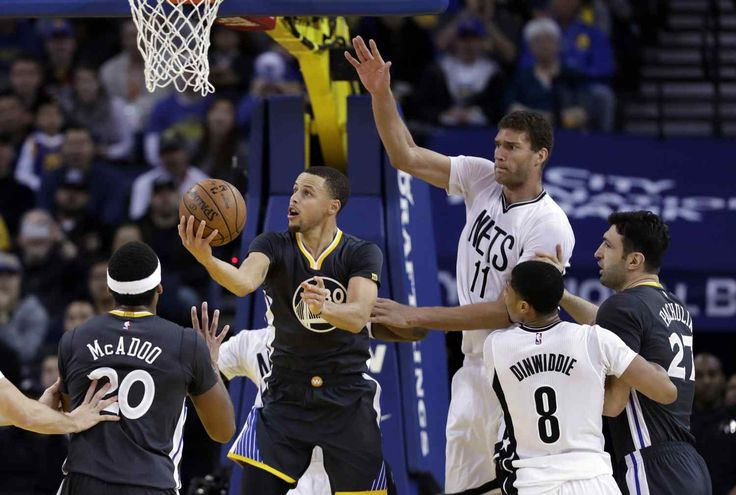 OAKLAND >> The Brooklyn Nets entered Oracle Arena on Saturday night having lost 15 straight and 20 of their past 21 games, sprinting away in the race for the NBA's worst record.The Warriors were missing Kevin Durant. But on this ni